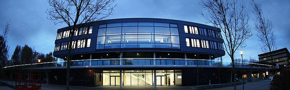 Weitwinkelperspektive – Gebäude ZM1